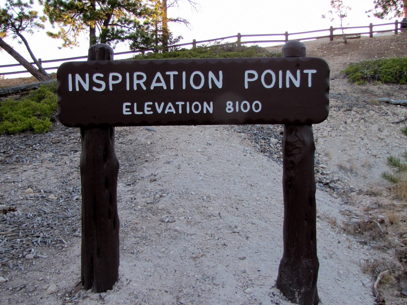 At Inspiration Point