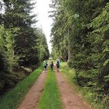 Ve bývalém vojenském prostoru je mnoho rovných a dlouhých cest a průseků. Po několik kilometrech je ale chůze po nich i přes zajímavou okolní přírodu poněkud jednotvárná.