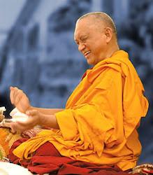 Rinpoche at Istituto Lama Tzong Khapa, Sept 2004  Photographer Piero Sirianni