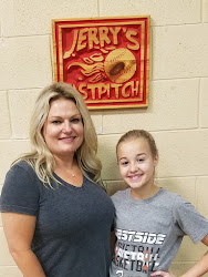 Rylie DeLong and her mother Hollie from Oceana, WV