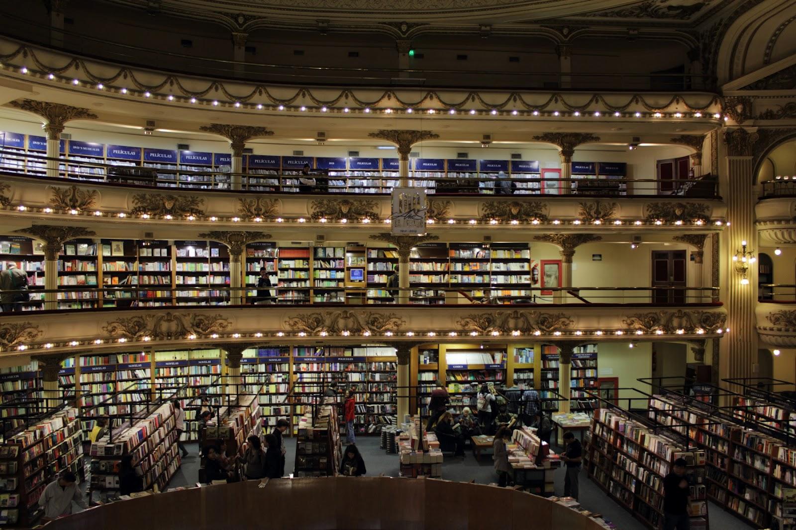 El Ateneo Grand Splendid - one of the best known bookshops in BsAs