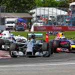 GP starts into 2nd corner