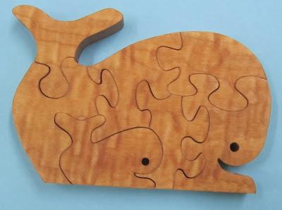 Puzzle Whale