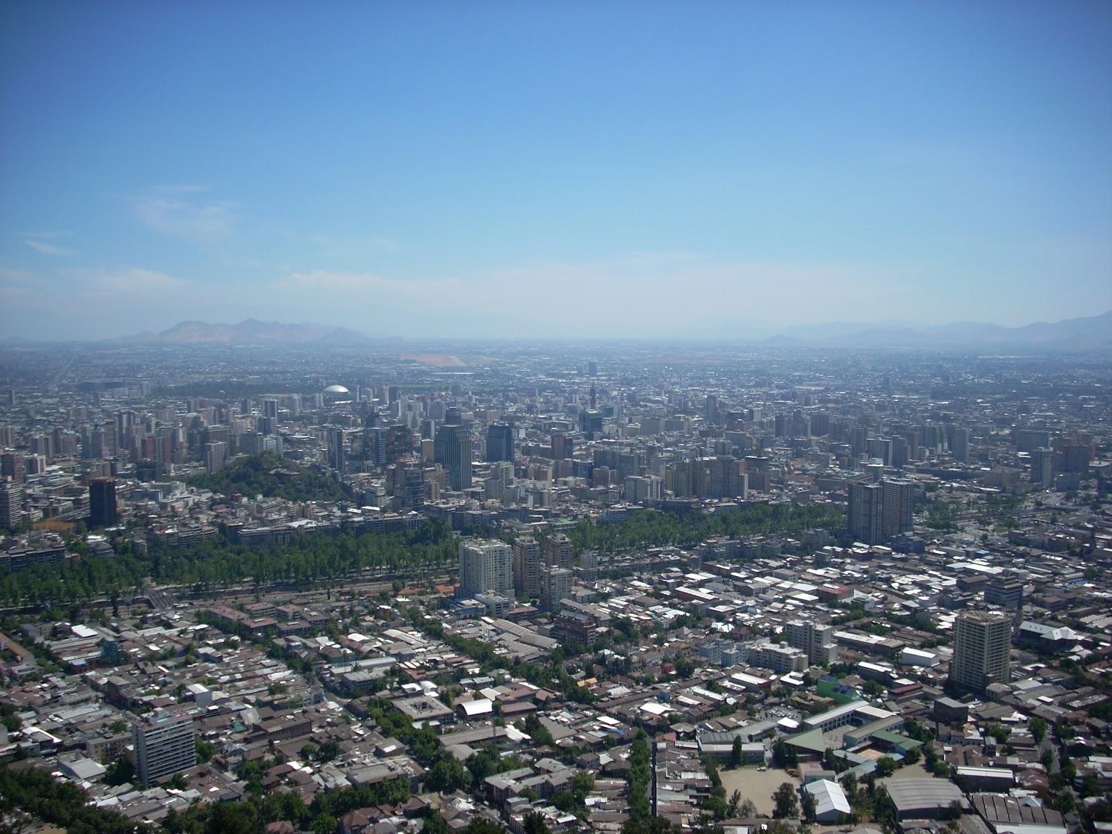 A big sprawling city