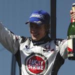 Jenson Button on the podium fininshed 2nd