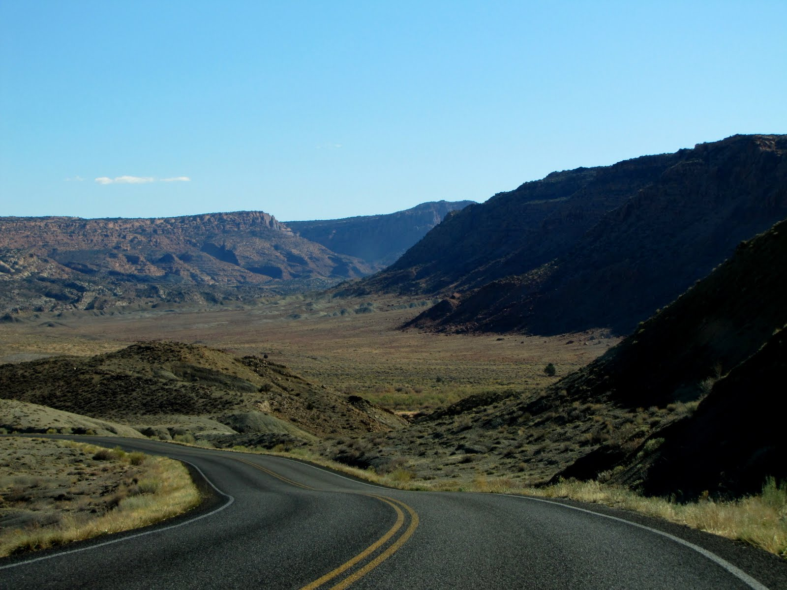 Going to the Arches Valley