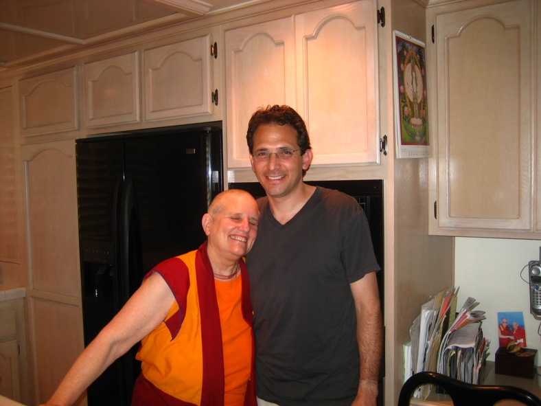 Ven. Thubten Wongmo and Wangchuk Meston, Huntington Beach, California, 2008