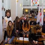 19 kwietnia 2016 - godz. 9-10,30 - symbole ŚDM w naszej parafii