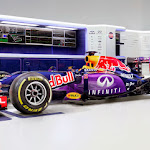 Daniil Kvyat's Infiniti RB11 shot in Milton Keynes, UK, 2015.  // Benedict Redgrove / Red Bull Content Pool // P-20150302-00513 // Usage for editorial use only // Please go to www.redbullcontentpool.com for further information. //