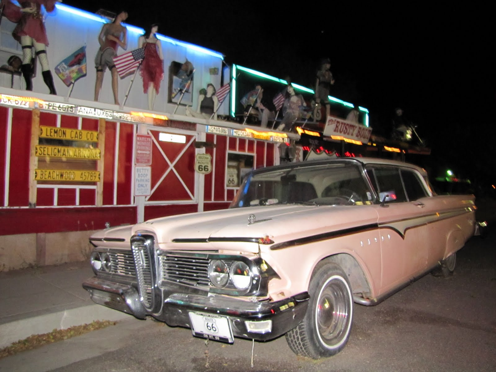 Route 66, Arizona, 1959 Edsel Ranger