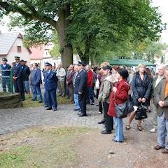 Odhalení památníku památce obětí holocaustu a příslušníkům RAF
