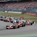 Race starts in Hockenheim