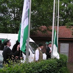 2007 Schützenfest: Kranz- niederlegung
