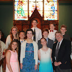 2015 Trinity Rite 13 Dinner and Service 18&19 April