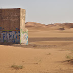 Strange structures in Sahara