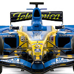 Renault R26 launch front