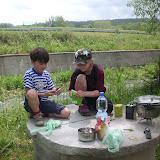 Naši kuchaři zatím připravují Rajskou polévku.