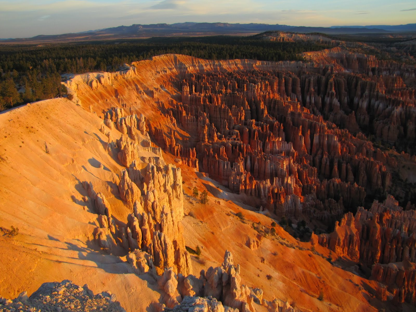 Bryce Canyon at 6:43am, the Sunrise