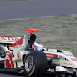 Jenson Button Honda RA106 shake down