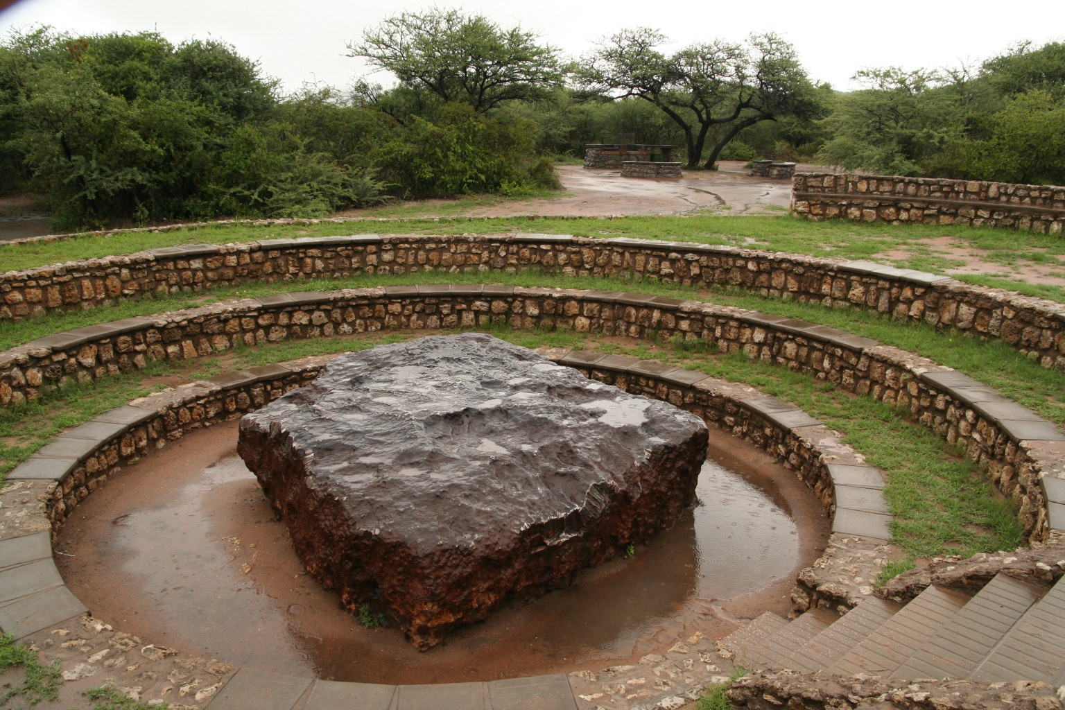 The biggest meteorite on Earth near Grootfontein