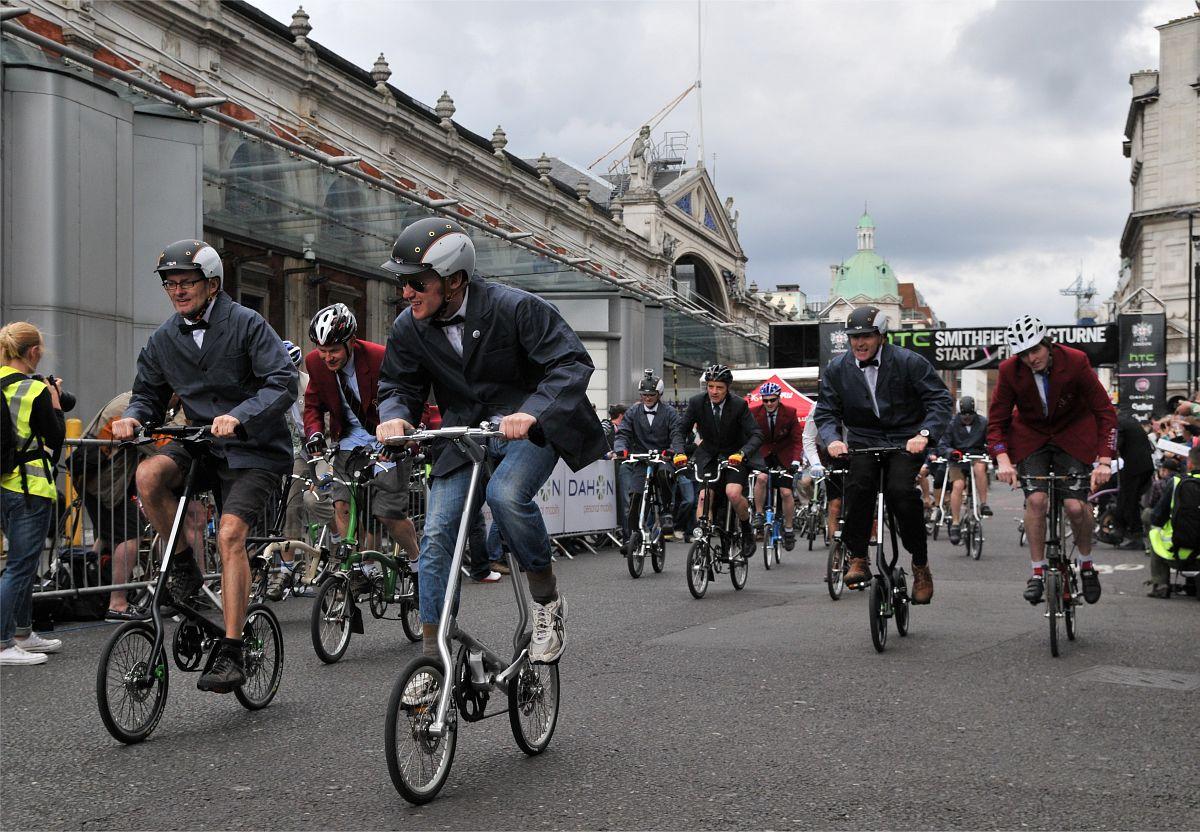 Smithfield Nocturne, London, Folding bike race