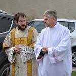 Mons.Szakál László esperes és Zirik Kristóf diakónus