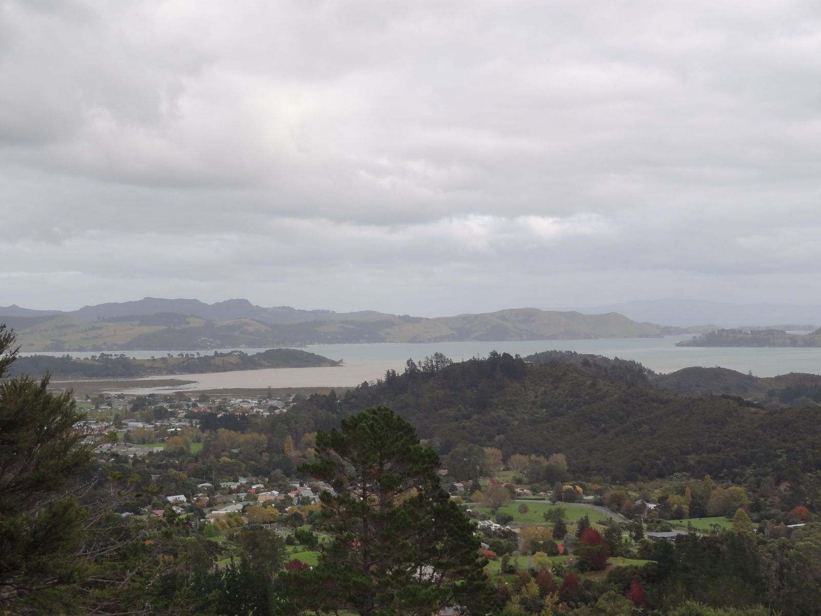 Coromandel Town from the Eyeful Tower