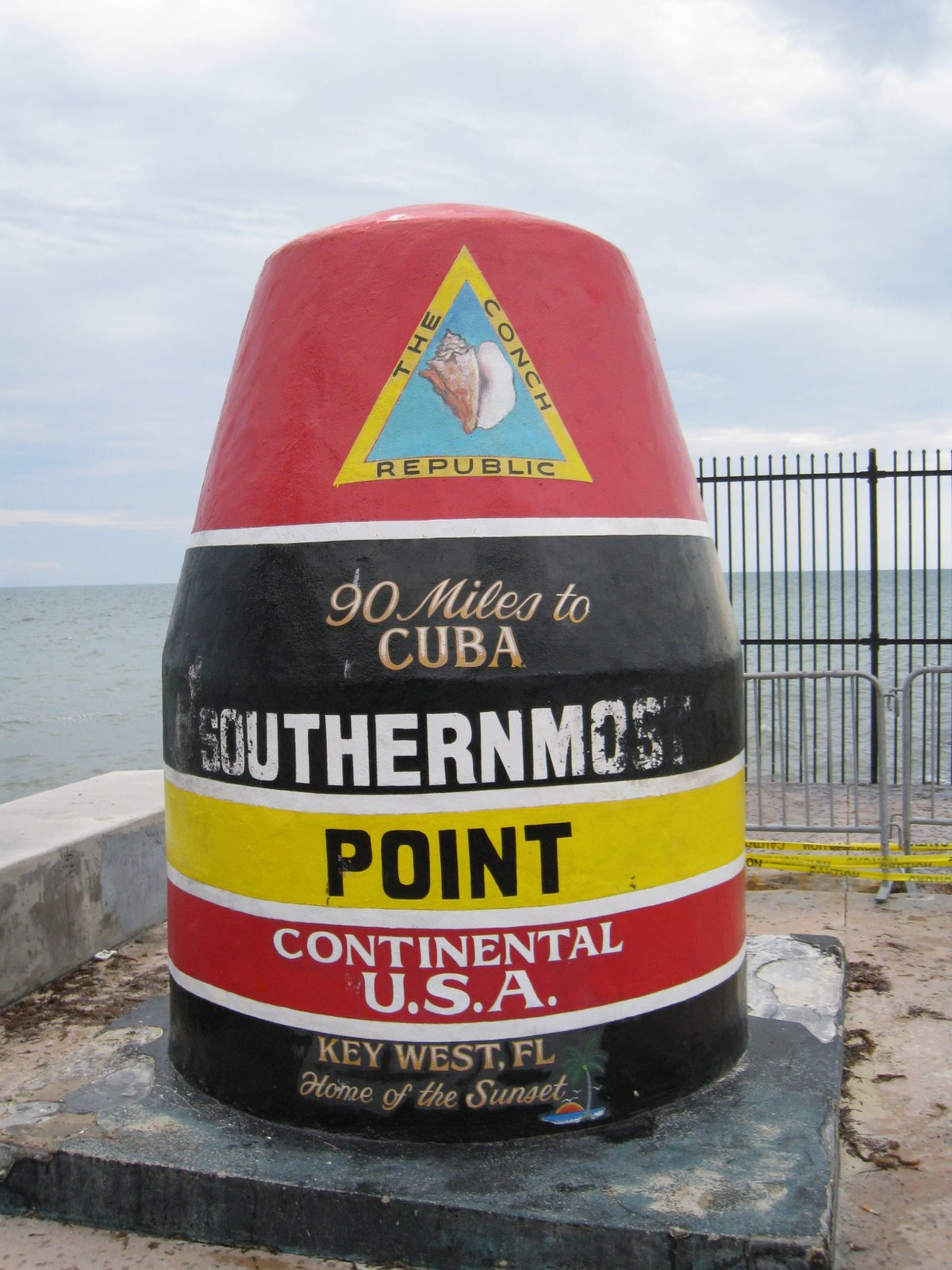 """Southernmost Point in the Continental USA"" - who comes up with Marketing crap like this? Why isn't there a ""Westernmost Point in the Continental USA"" ?! The real travesty is that, technically, this point is not even the ""Southernmost"" - look it up in Google maps"