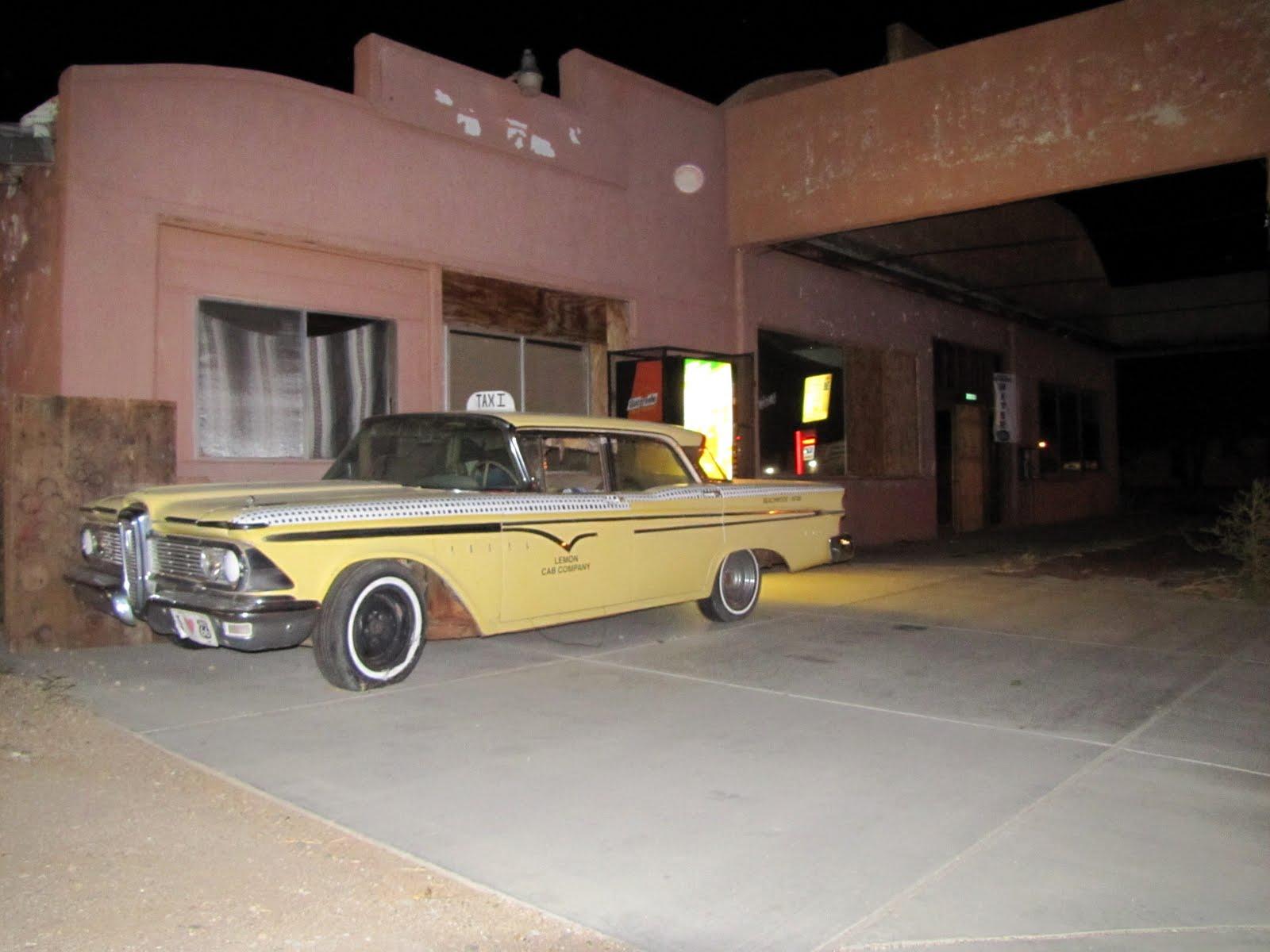 Route 66, Arizona, 1959 Edsel Ranger