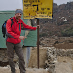 Navigating on the Everest trail is easy