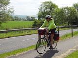 On cycletrack near Allness
