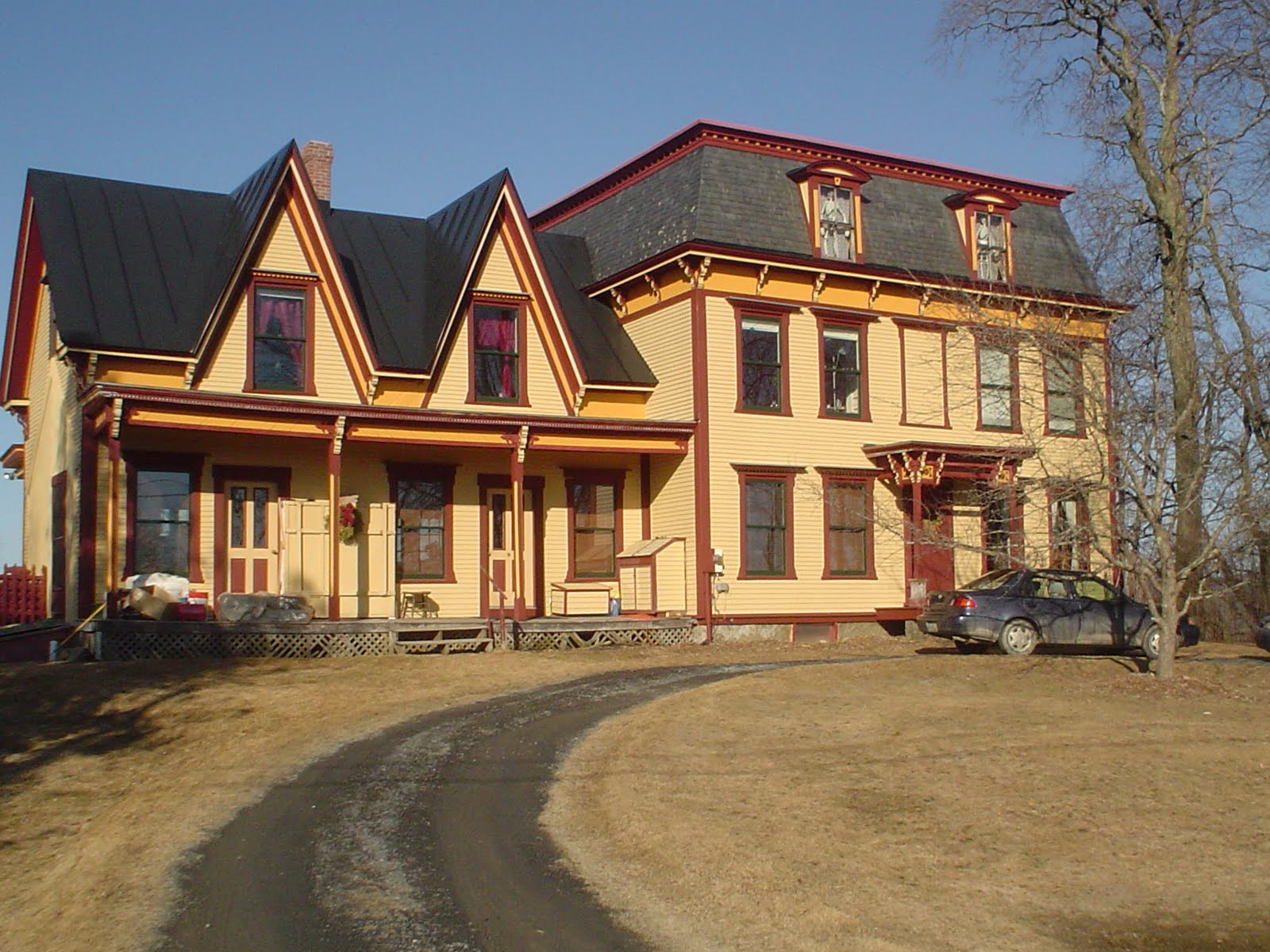 The Theodore Wood house.