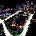 Beautiful Marina Bay Street Circuit, Singapore