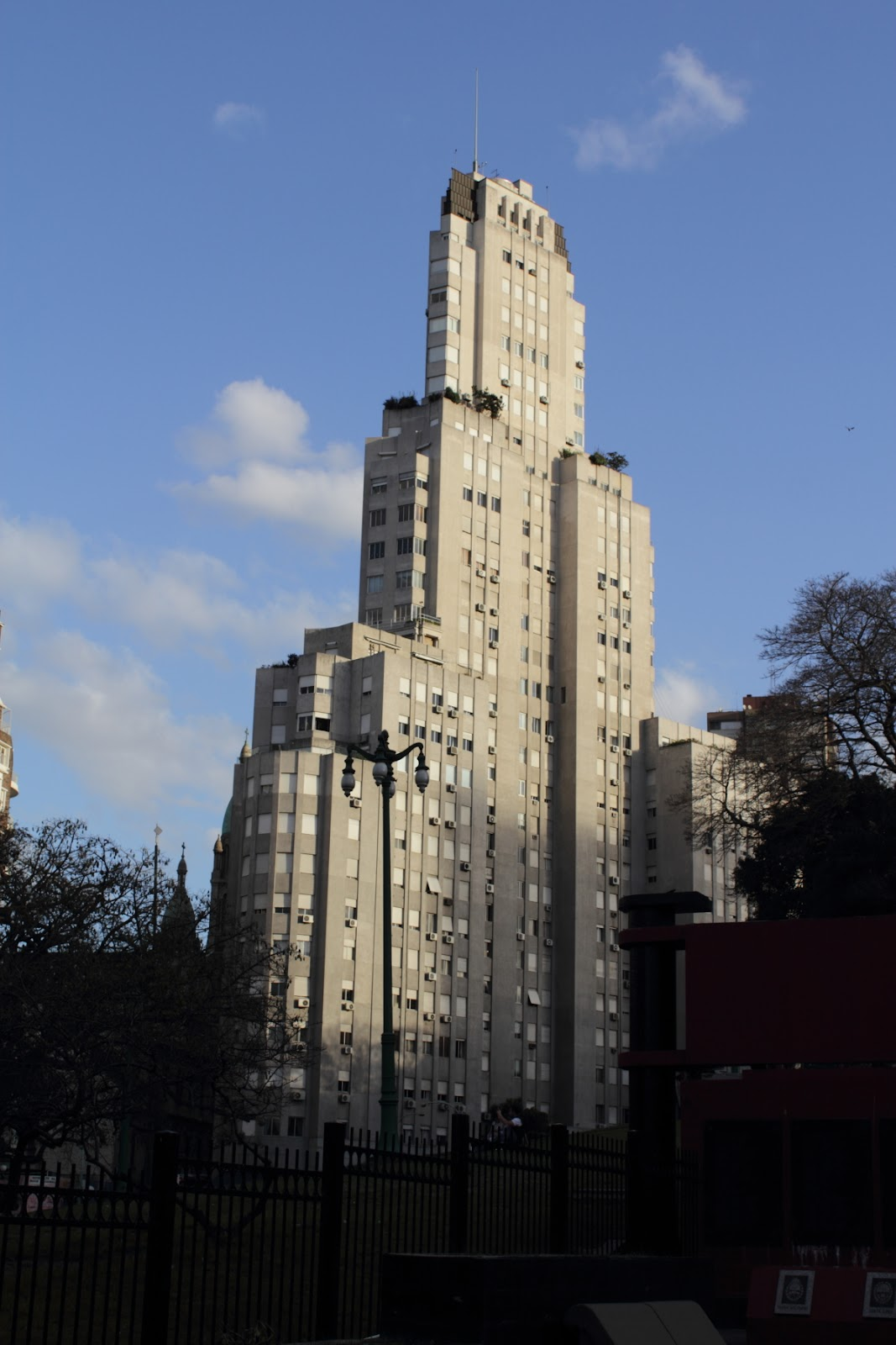 Edificio Kavanagh (The Kavanagh Building) - an Art Deco skyscraper in Buenos Aires overlooking Plaza San Martín.
