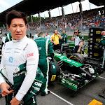 Kamui Kobayashi, Caterham F1