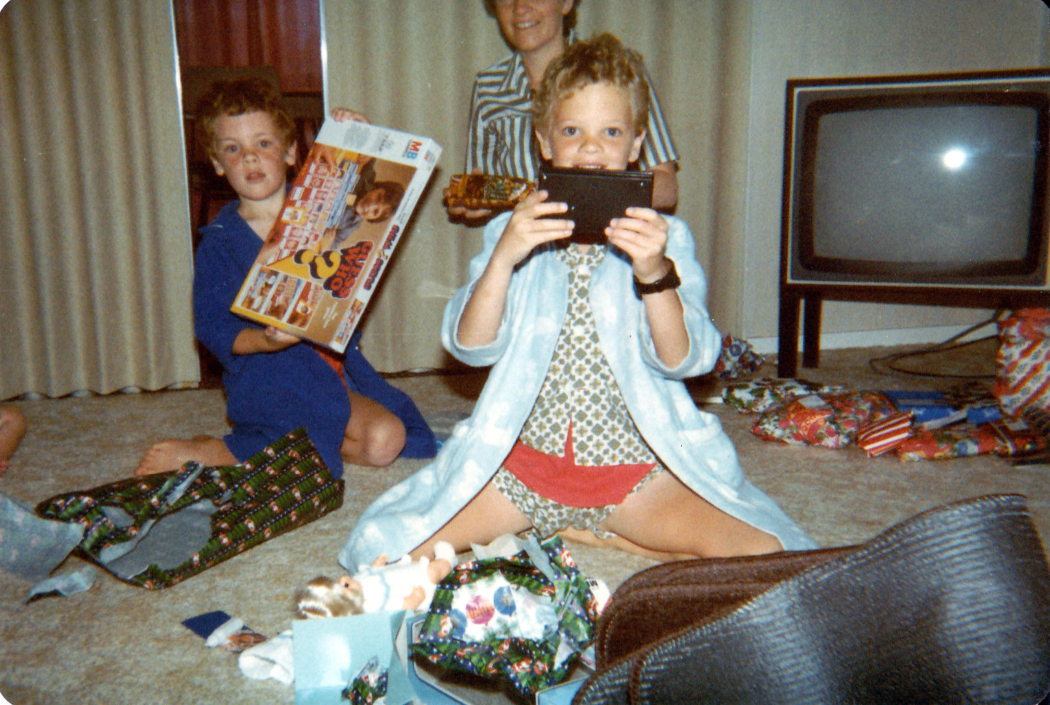 Christmas 1985 - Palmerston North
