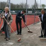 Opening nieuwe tennisbanen 2011