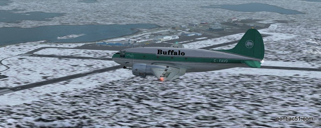 Downwind leg runway 15.