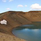 The new crater in Krafla