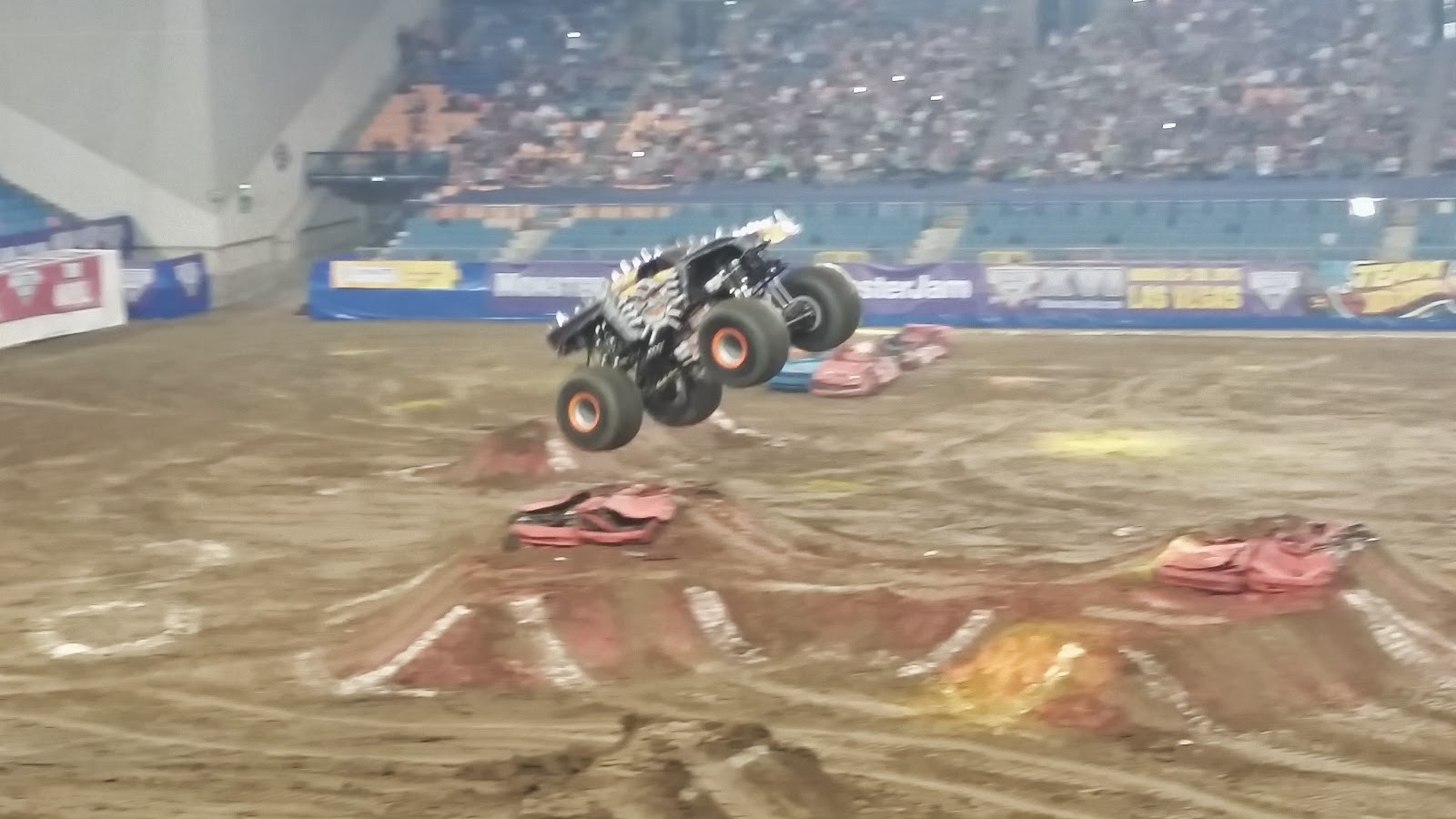 Flying Monstertruck