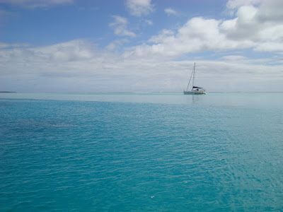 Taken from our small boat taking us to Tahaa