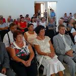 A szentmise résztvevői