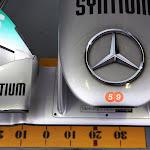Mercedes Nose W03 F1 car