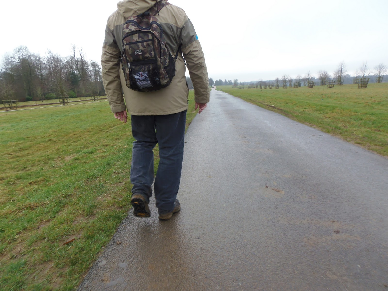 Walking Down the Road