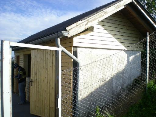 Umbau Tennishütte zur Kantine des USC
