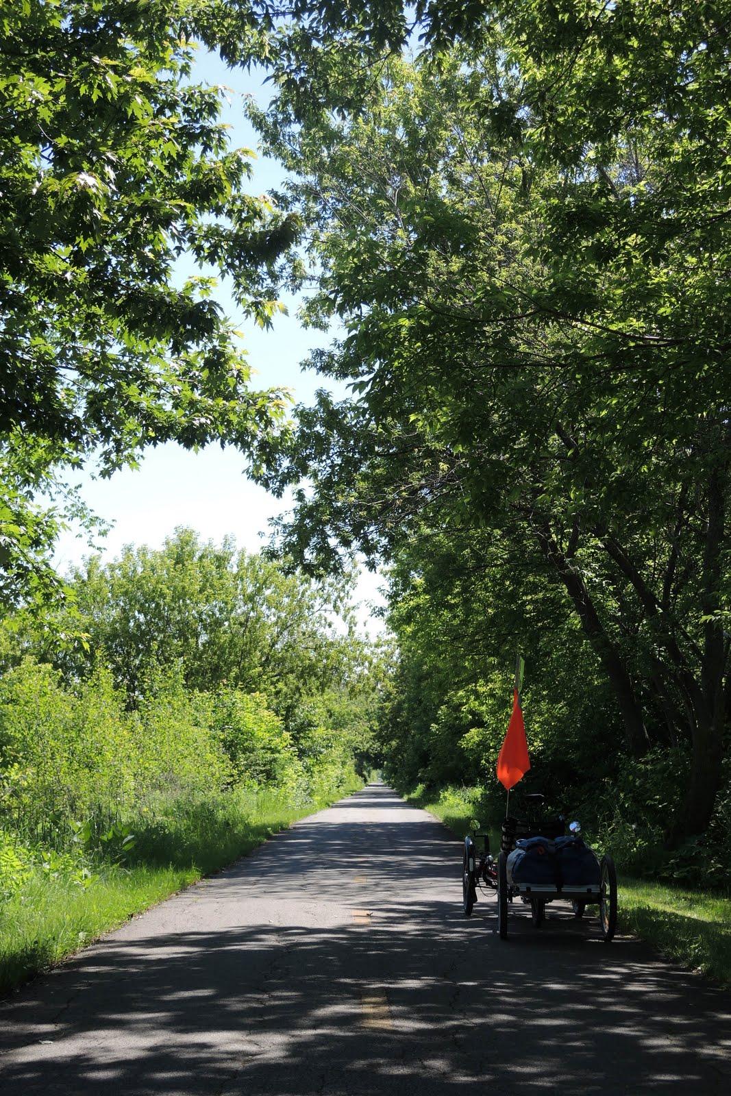 Une voie verte tranquille