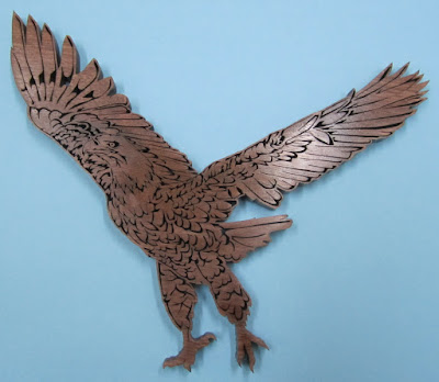 Ready to Fly By Jacob Fowler CWC May 2013 Black Walnut 14x12