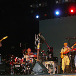 Opening for the Neville Bros., Lowell Summer Music Series