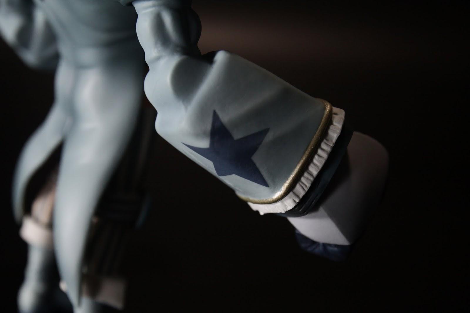 雖然服裝不同但是手臂上的星星一定要有