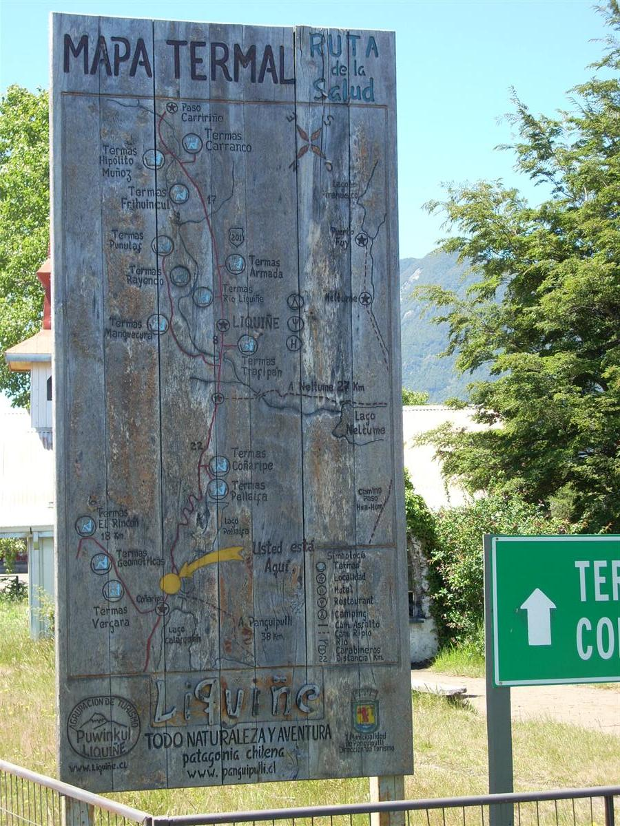 """Map of the """"Termases"""" (thermal pools) in the region - there are many"""